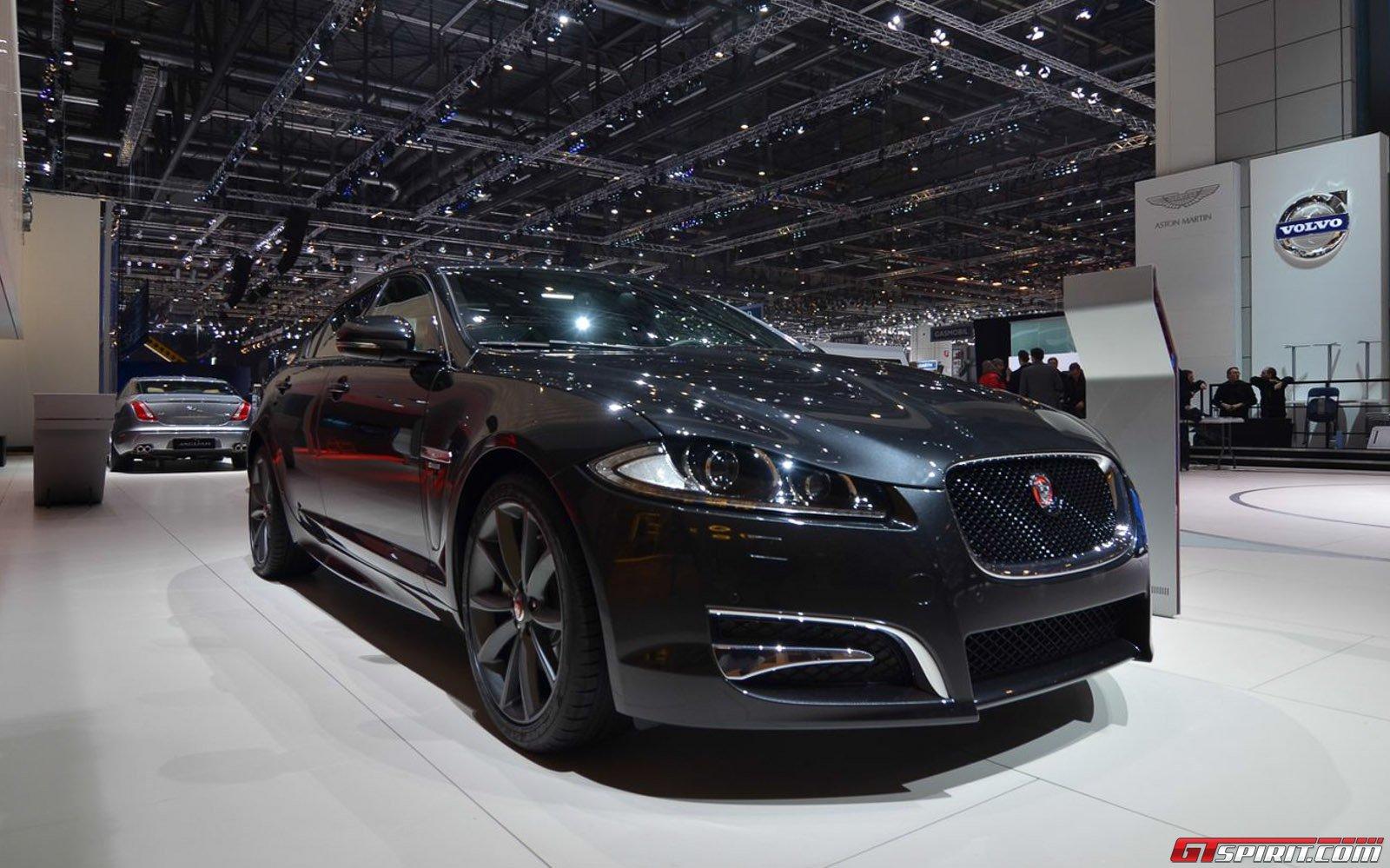 Jaguar XF R Sport At The Geneva Motor Show 2014