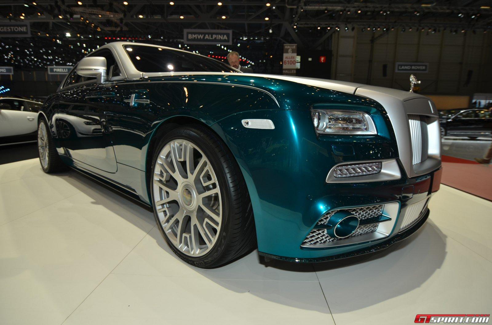 ... Shows Geneva Motor Show 2014 Geneva 2014: Mansory Rolls-Royce Wraith