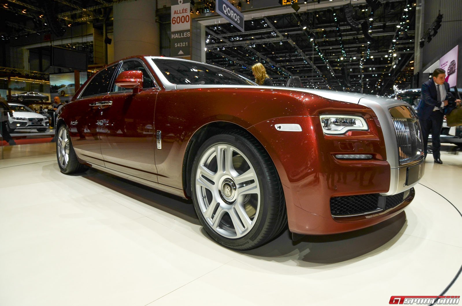 geneva 2014 rolls royce ghost series ii gtspirit. Black Bedroom Furniture Sets. Home Design Ideas
