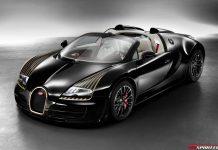 Official: Bugatti Veyron Grand Sport Vitesse Black Bess