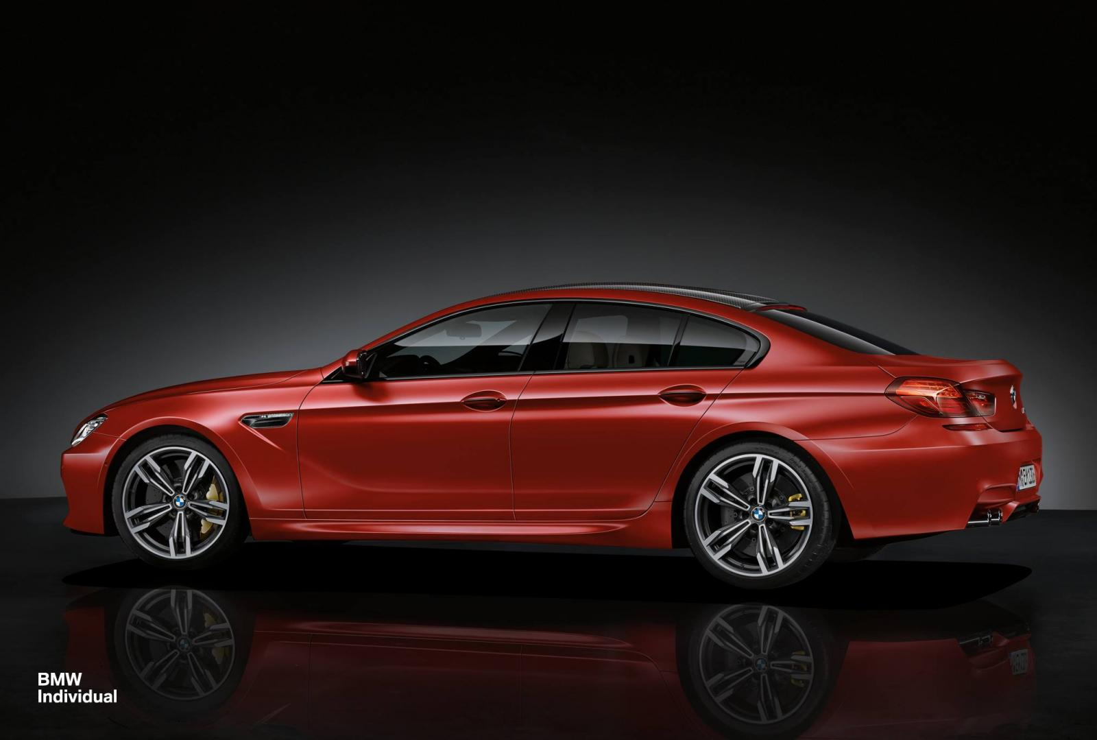 Official BMW M6 Gran Coupe By Individual