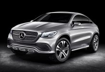 Mercedes-Benz Concept Coupe SUV Previewed Before Beijing