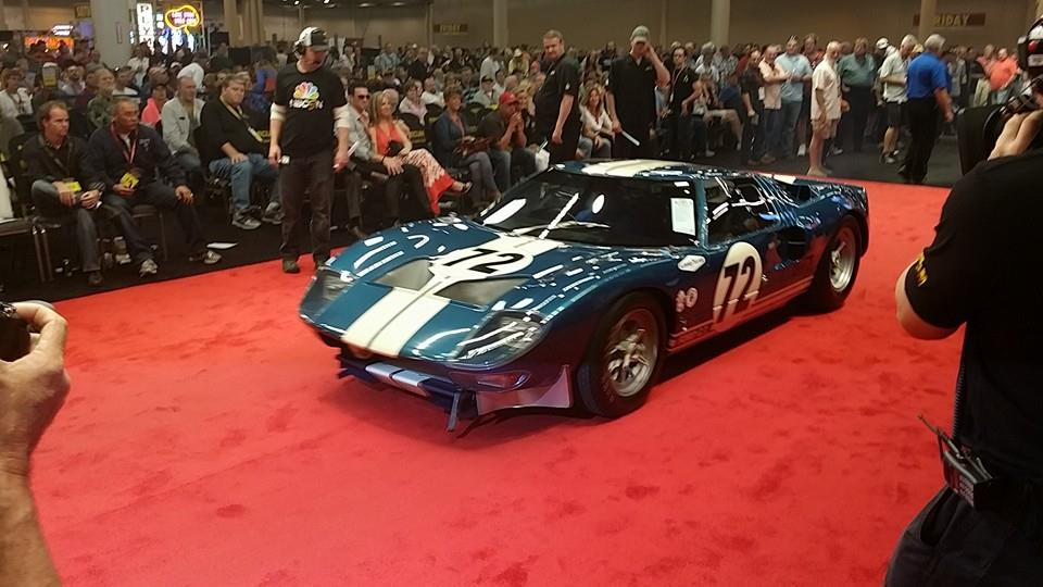 1964 Ford GT40 Prototype Sells for $7.1 Million at Mecum Auctions ...