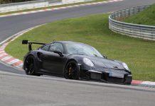 Next-Generation Porsche 911 GT3 RS Spied Again
