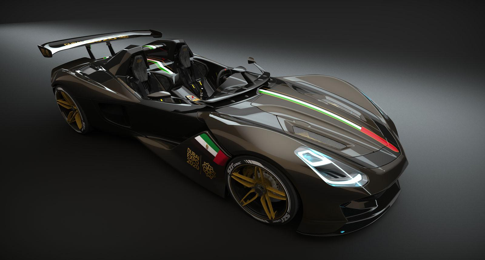 Dubai Roadster Sports Car Imagined - GTspirit