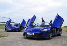 Louwman Exclusive McLaren Outing at Lelystad Airport, Netherlands