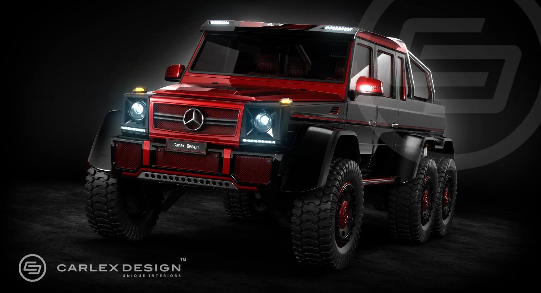 Official: Carlex Design Mercedes Benz G63 AMG 6x6