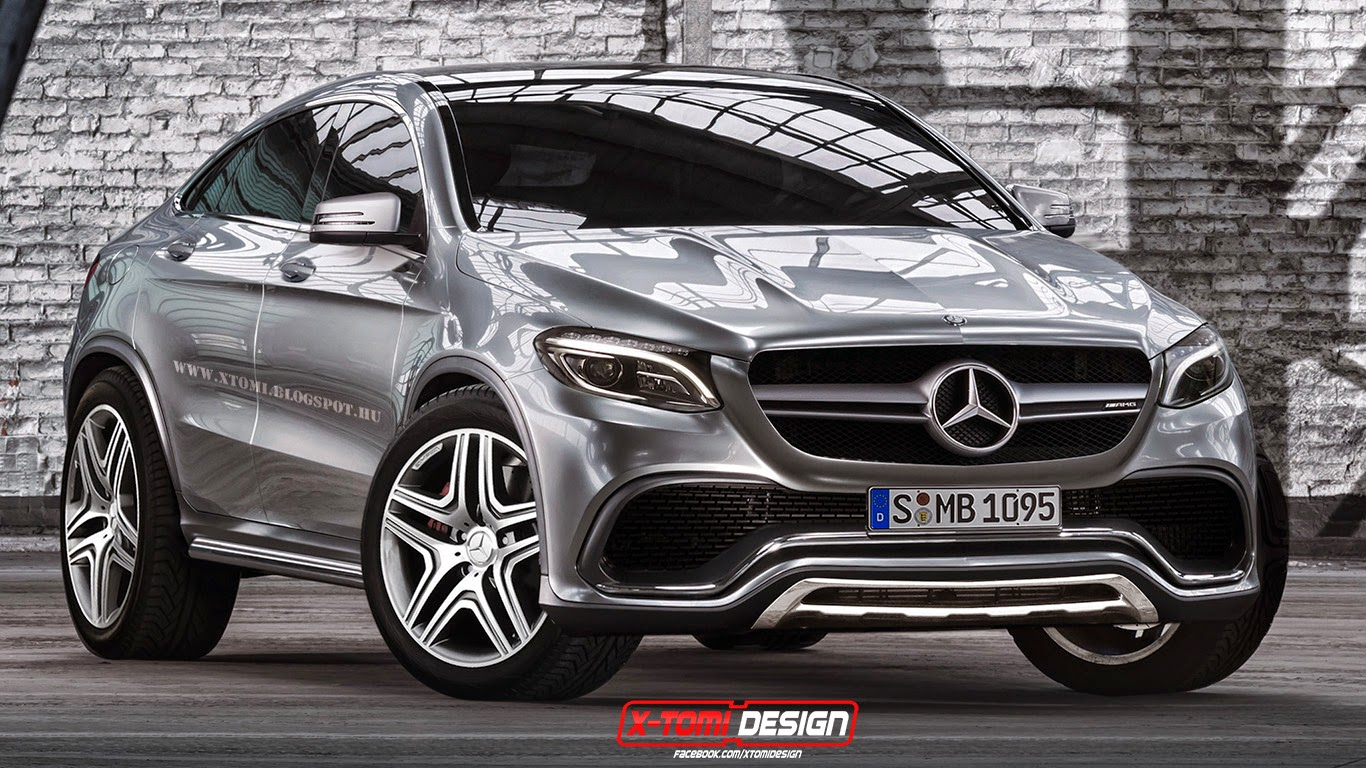 Mercedes benz mlc rendered from concept coupe gtspirit for 2014 mercedes benz glc