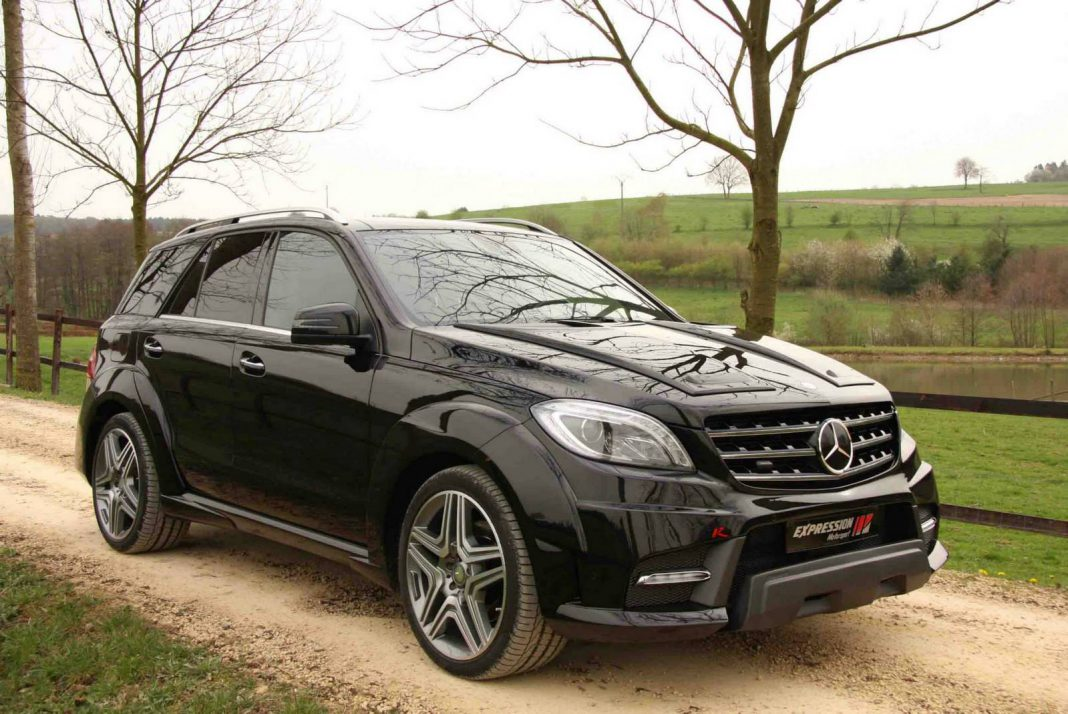 Official mercedes benz ml 63 amg wide body r by for Ml mercedes benz