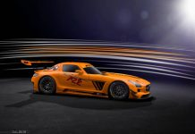Rare Mercedes-Benz SLS AMG GT3 45th Anniversary Edition