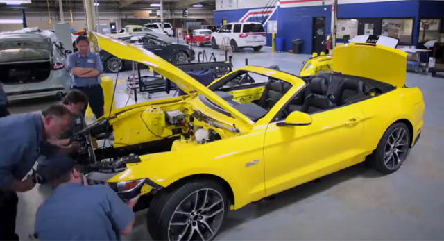 Video How Ford Will Build a Mustang on the Empire State