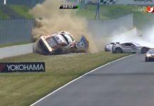 b578c12e55df5f Video  Audi R8 LMS Ultra Massive Crash at ADAC GT Masters