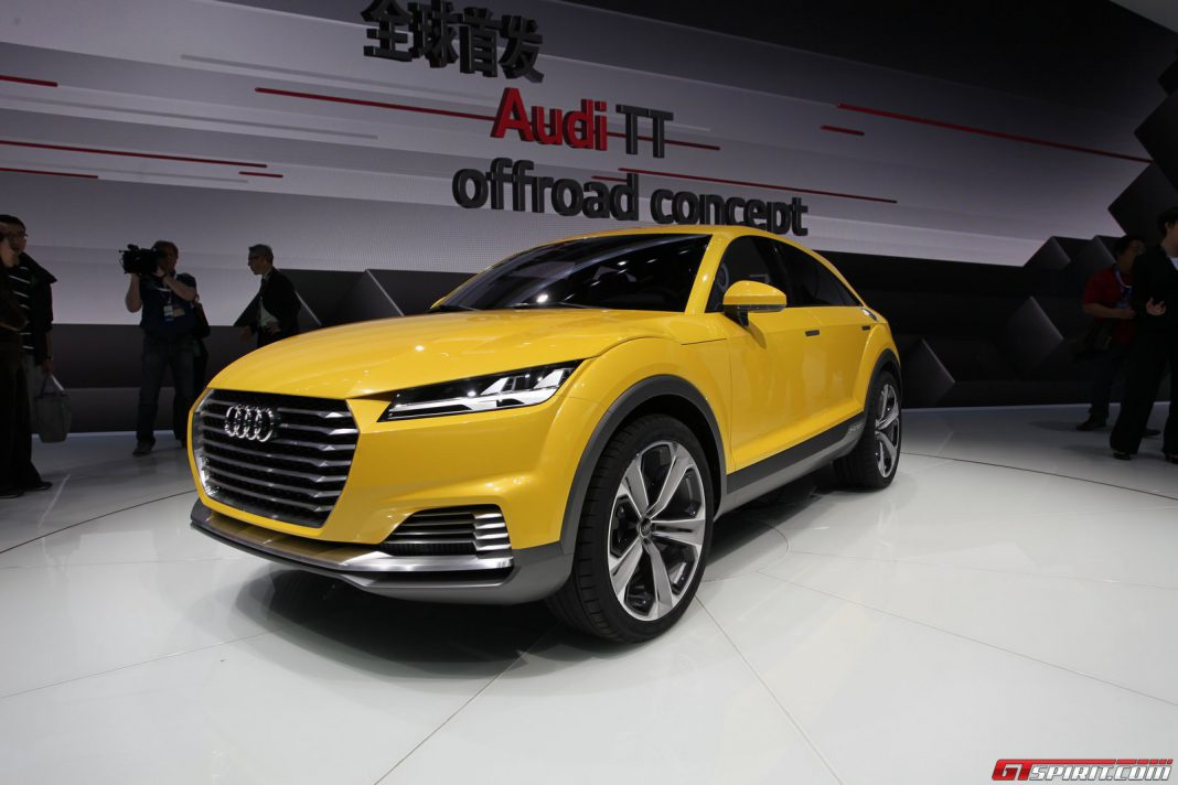 auto china 2014 audi tt allroad concept gtspirit. Black Bedroom Furniture Sets. Home Design Ideas