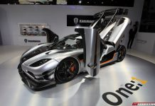 Koenigsegg One 1 at Beijing Motor Show 2014