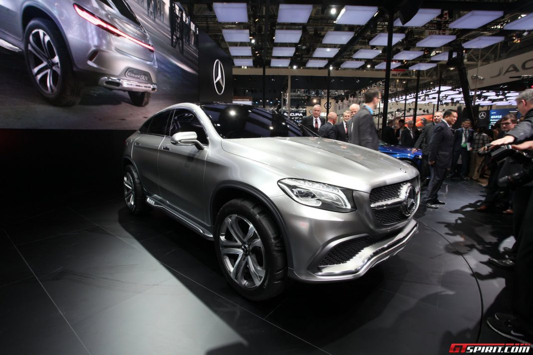 Auto china 2014 mercedes benz concept coupe suv gtspirit - Mercedes car show ...
