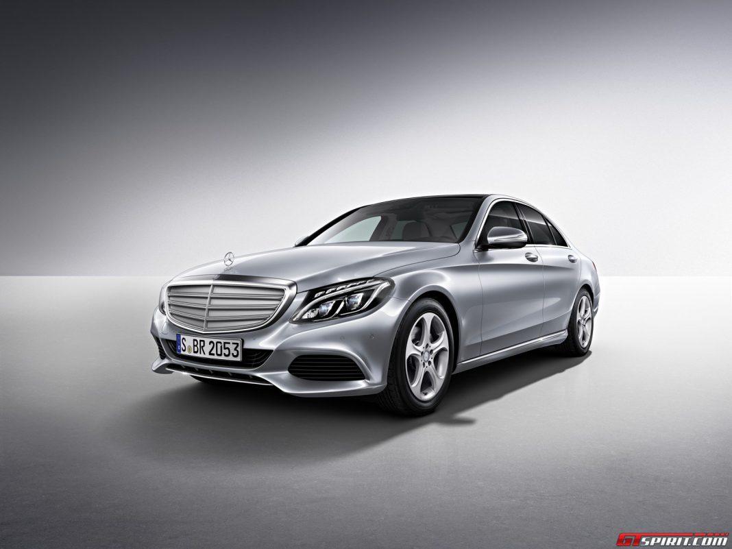 Official mercedes benz c class long wheelbase gtspirit for Mercedes benz long