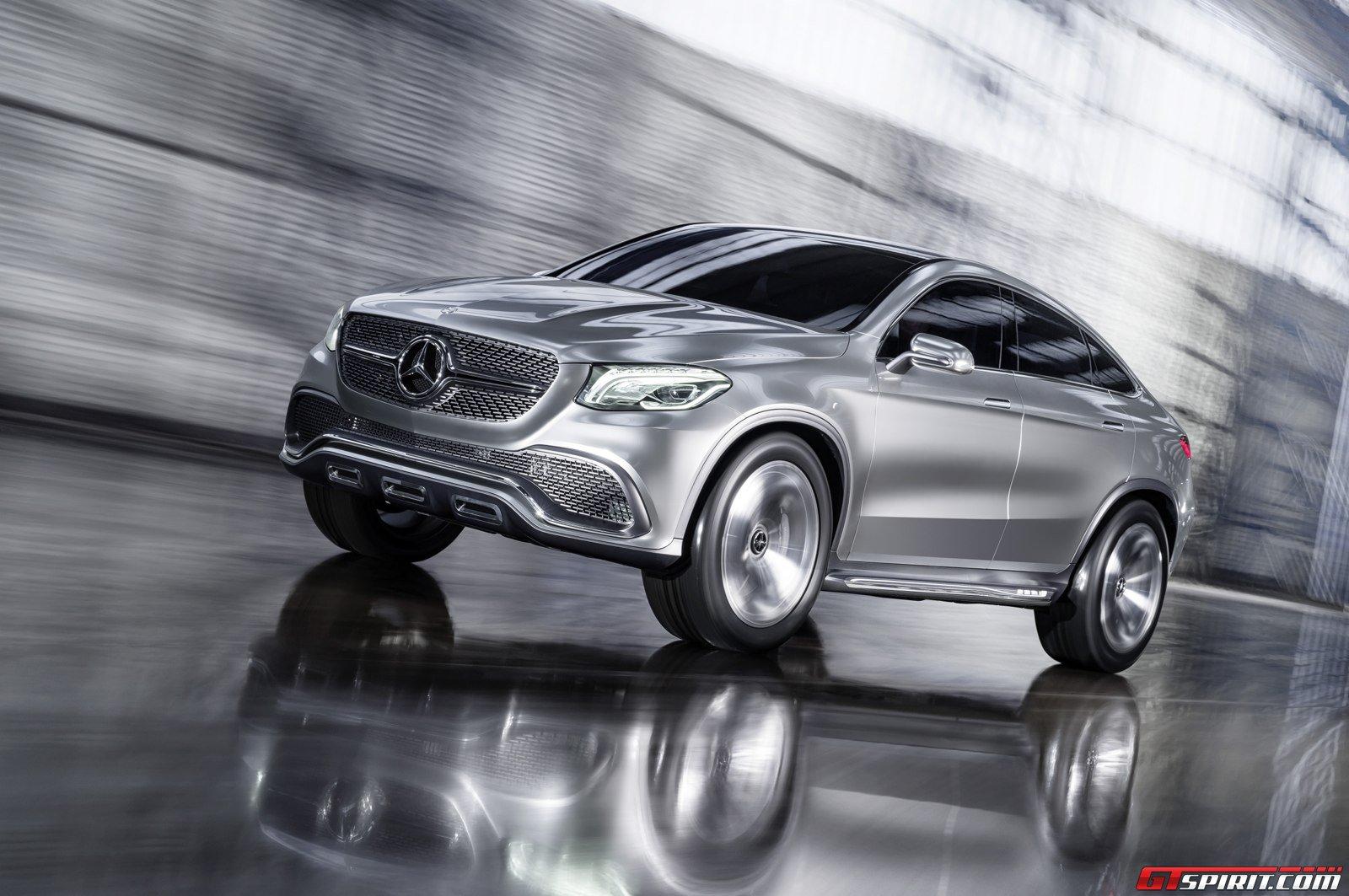 Official Mercedes Benz Concept Coup Suv Gtspirit