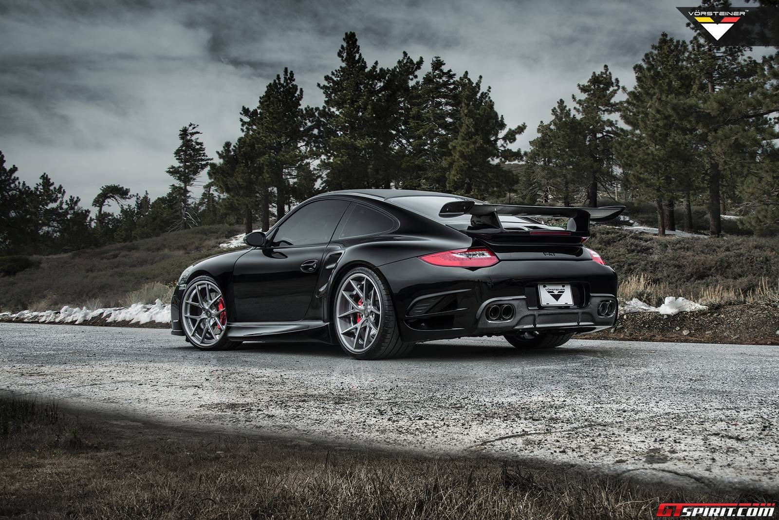 official vorsteiner porsche 997 v rt edition 911 turbo. Black Bedroom Furniture Sets. Home Design Ideas
