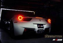Hear a Ferrari 458 Italia With Armytrix Exhaust Roar