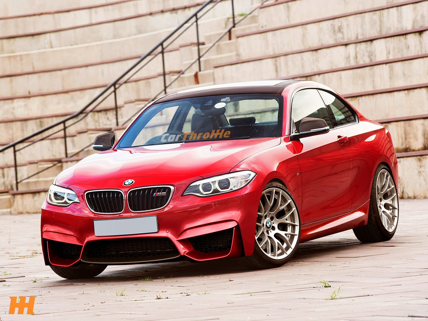 2016 bmw m2 rendered and looking exceptional gtspirit. Black Bedroom Furniture Sets. Home Design Ideas