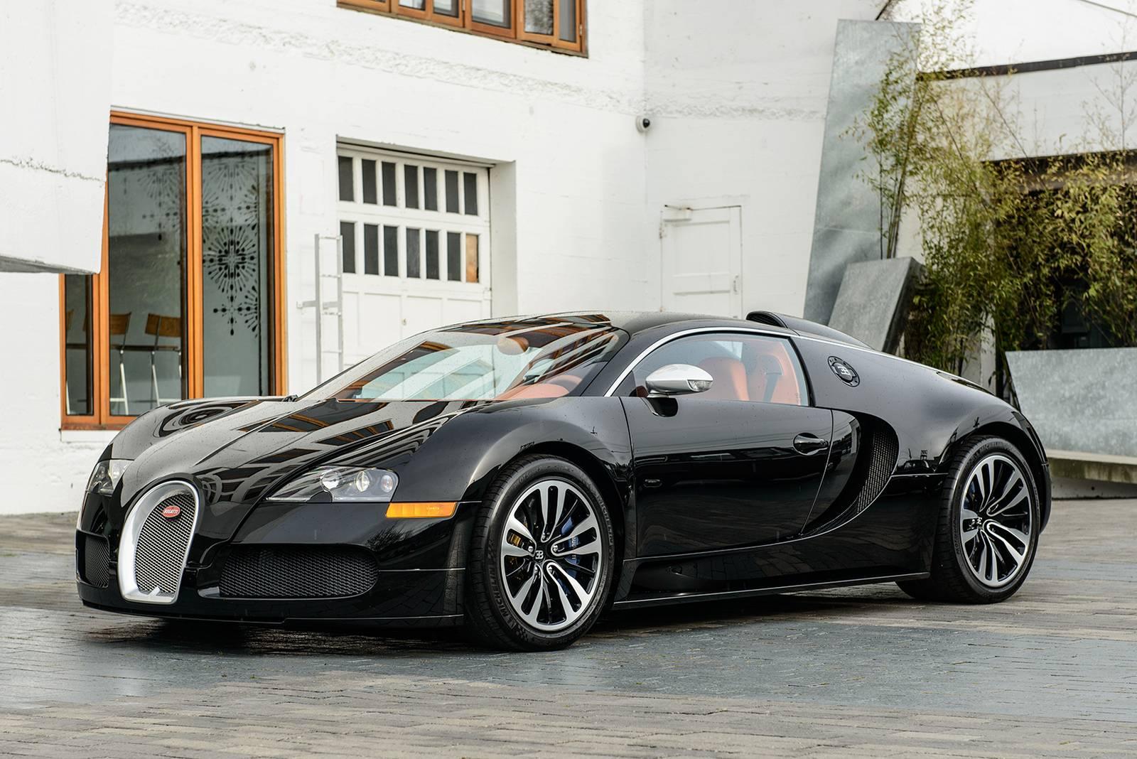 Drake's Bugatti Veyron Sang Noir Hits the Used Car Market - GTspirit