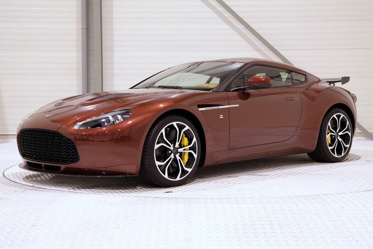 For Sale Unique Bronze 2014 Aston Martin V12 Zagato Gtspirit