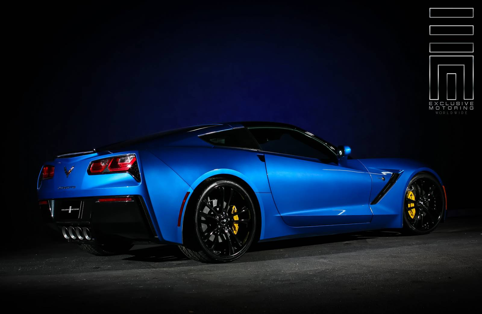 2014 corvette stingray by exclusive motoring gtspirit. Black Bedroom Furniture Sets. Home Design Ideas