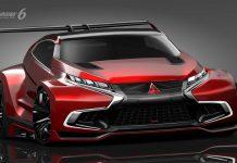 Mitsubishi Reveals Concept XR-PHEV Evolution Vision Gran Turismo Concept