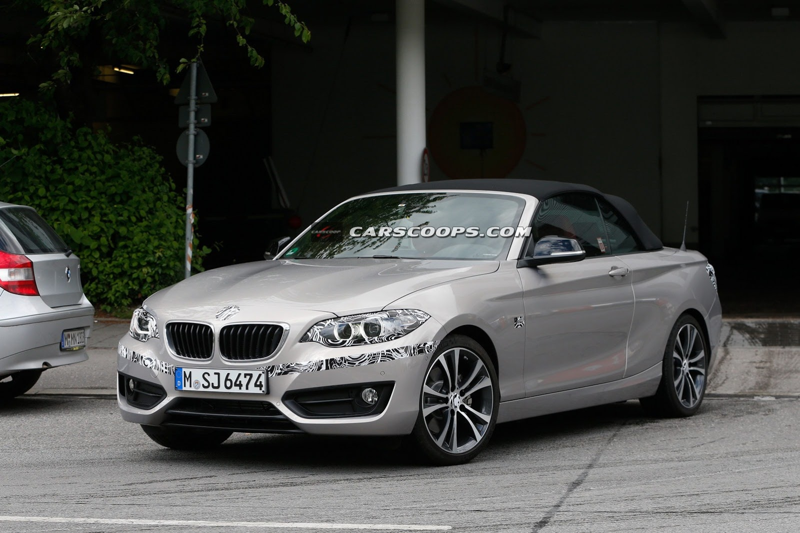 bmw 2 series cabriolet snapped again prior to upcoming. Black Bedroom Furniture Sets. Home Design Ideas