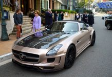 Bronze Hamann Hawk Roadster in Monaco