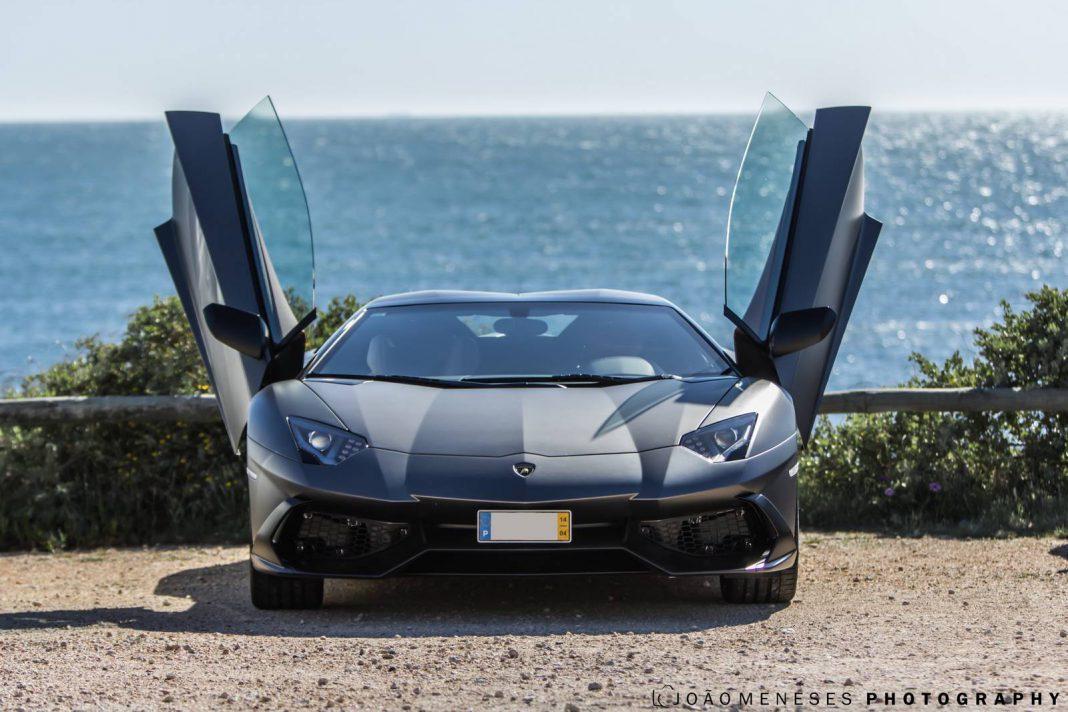 Grigio Titans Lamborghini Aventador 50th Anniversario From