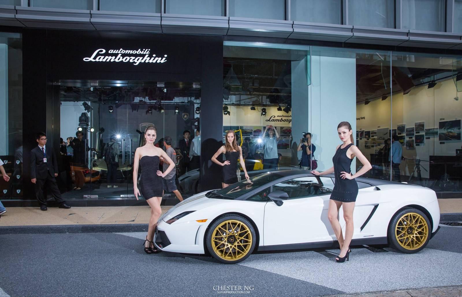 Lamborghini Hong Kong Opens First Pop Up Museum In Asia