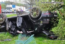 Porsche Macan Turbo Destroyed After Polish Crash