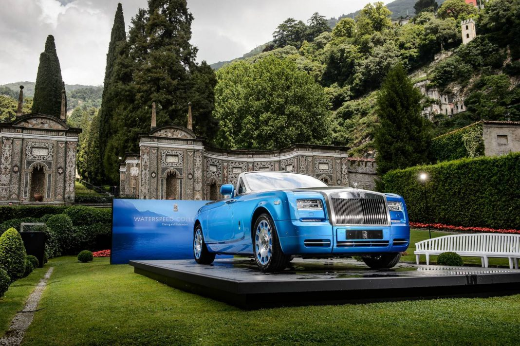 rolls royce at villa d 39 este 2014 gtspirit. Black Bedroom Furniture Sets. Home Design Ideas