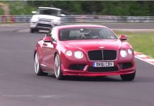 Video: New Bentley Continental GT V8 Supersports on the Nurburgring