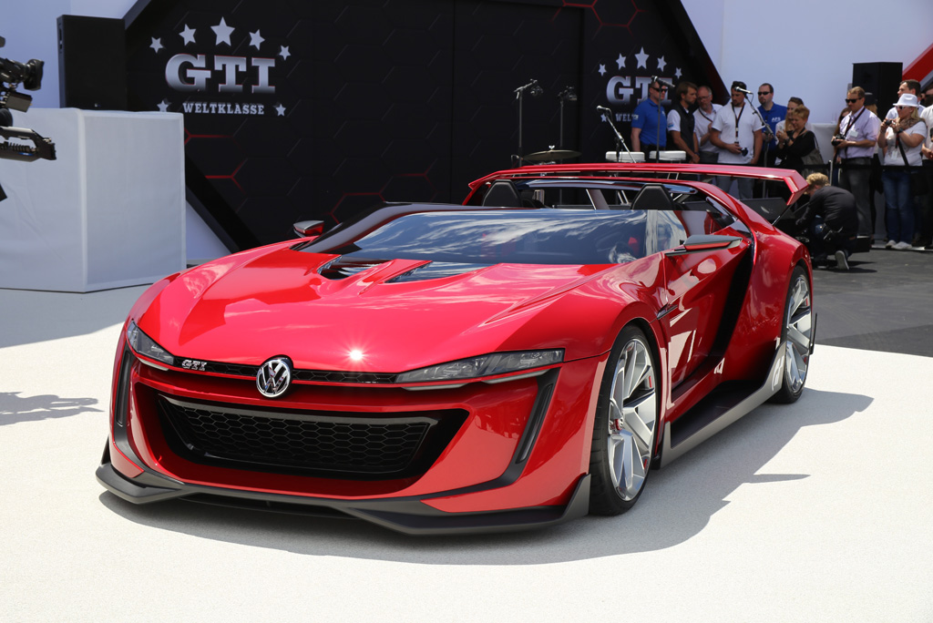 Volkswagen Gti Roadster 2018 >> Volkswagen GTI Roadster Vision Gran Turismo Revealed at GTI Meeting - GTspirit