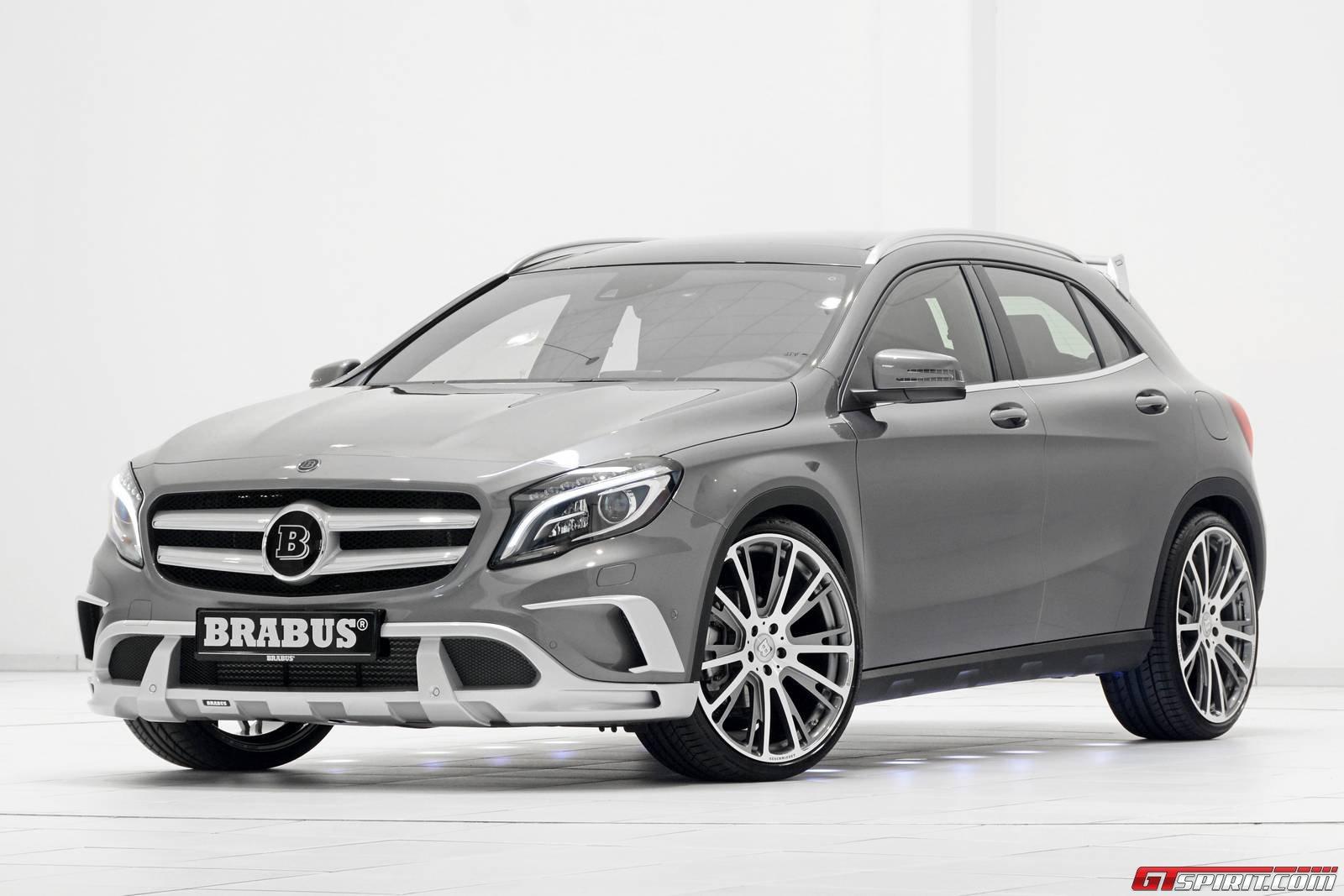 Official Brabus Mercedes Benz Gla Gtspirit