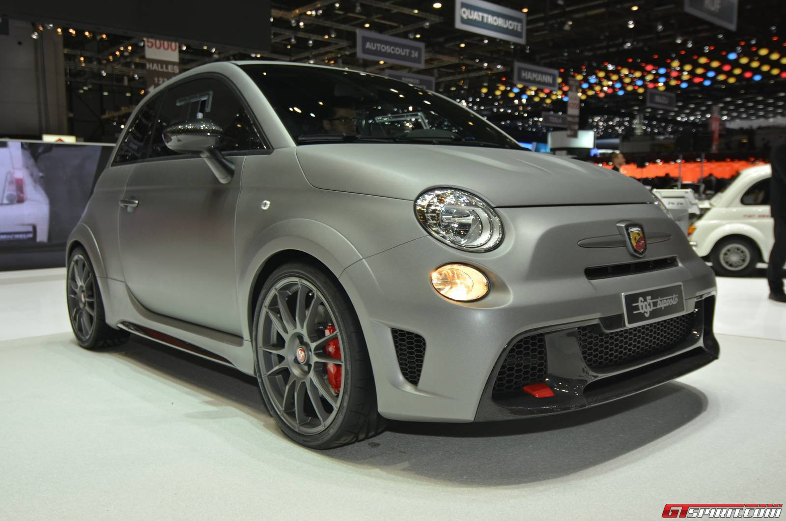 abarth 695 biposto named official gumball 3000 2014 car gtspirit. Black Bedroom Furniture Sets. Home Design Ideas