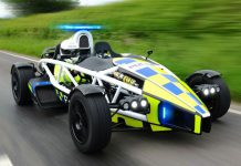 Special 350hp Ariel Atom Police Car Revealed in U.K.
