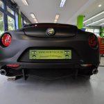 Deep Matt Black Alfa Romeo 4C