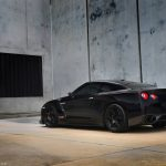 1000hp Black Alpha 10 Nissan GT-R
