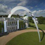 Mercedes-Benz Sculpture Unveiled at Goodwood 2014