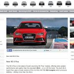 Details About 600hp 2014 Audi RS6 Avant Plus Leak