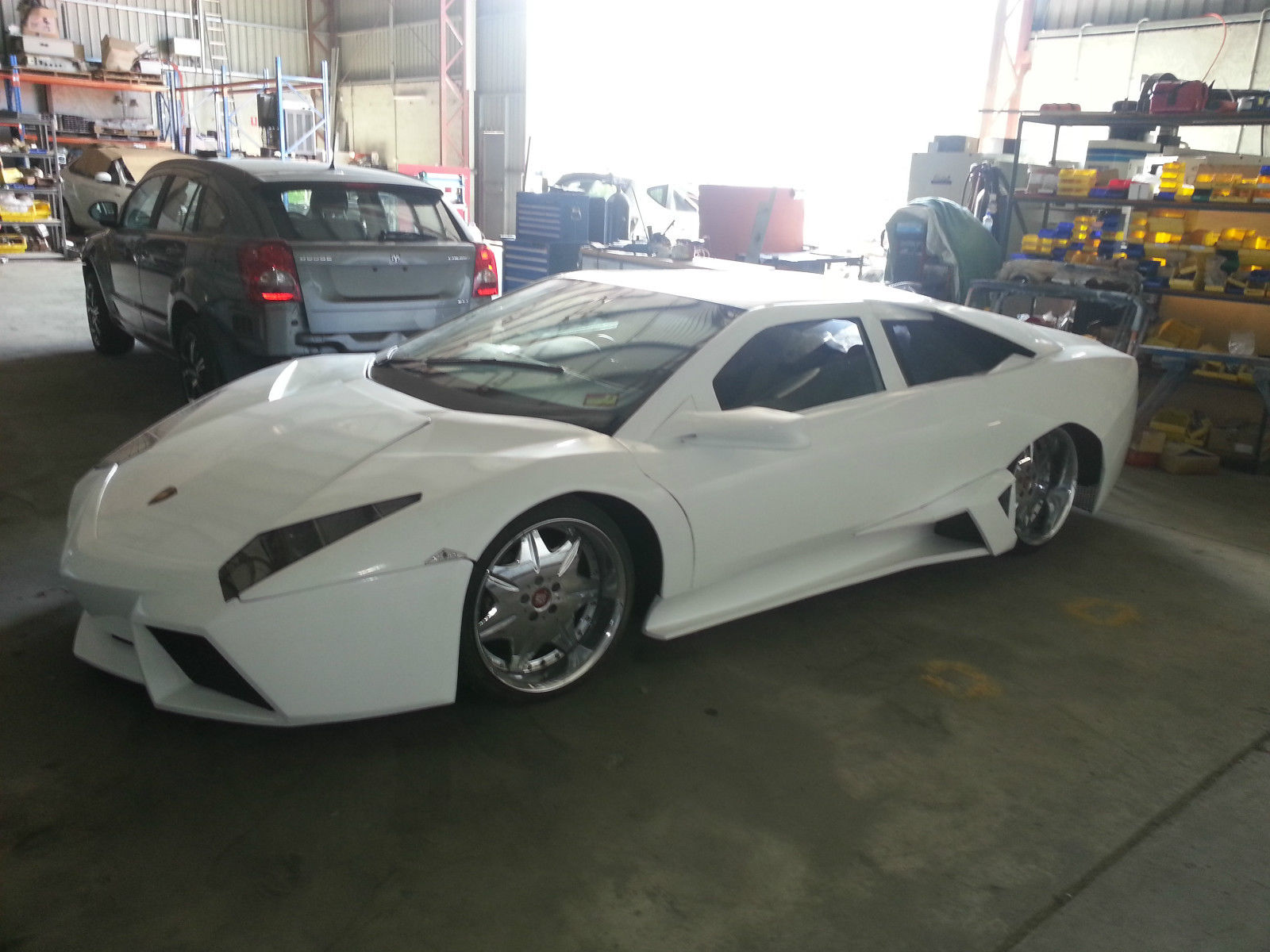 White Lamborghini Reventon Replica For Sale in Australia - GTspirit