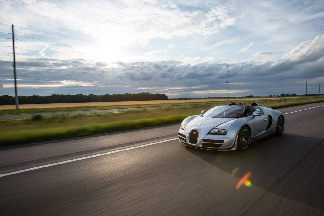 gallery bugatti veyron grand sport vitesse on route 66. Black Bedroom Furniture Sets. Home Design Ideas