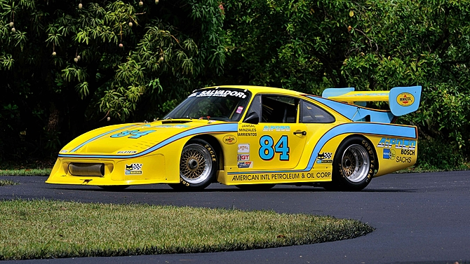 1976 Porsche 934/935 IMSA El Salvador Heading to Auction
