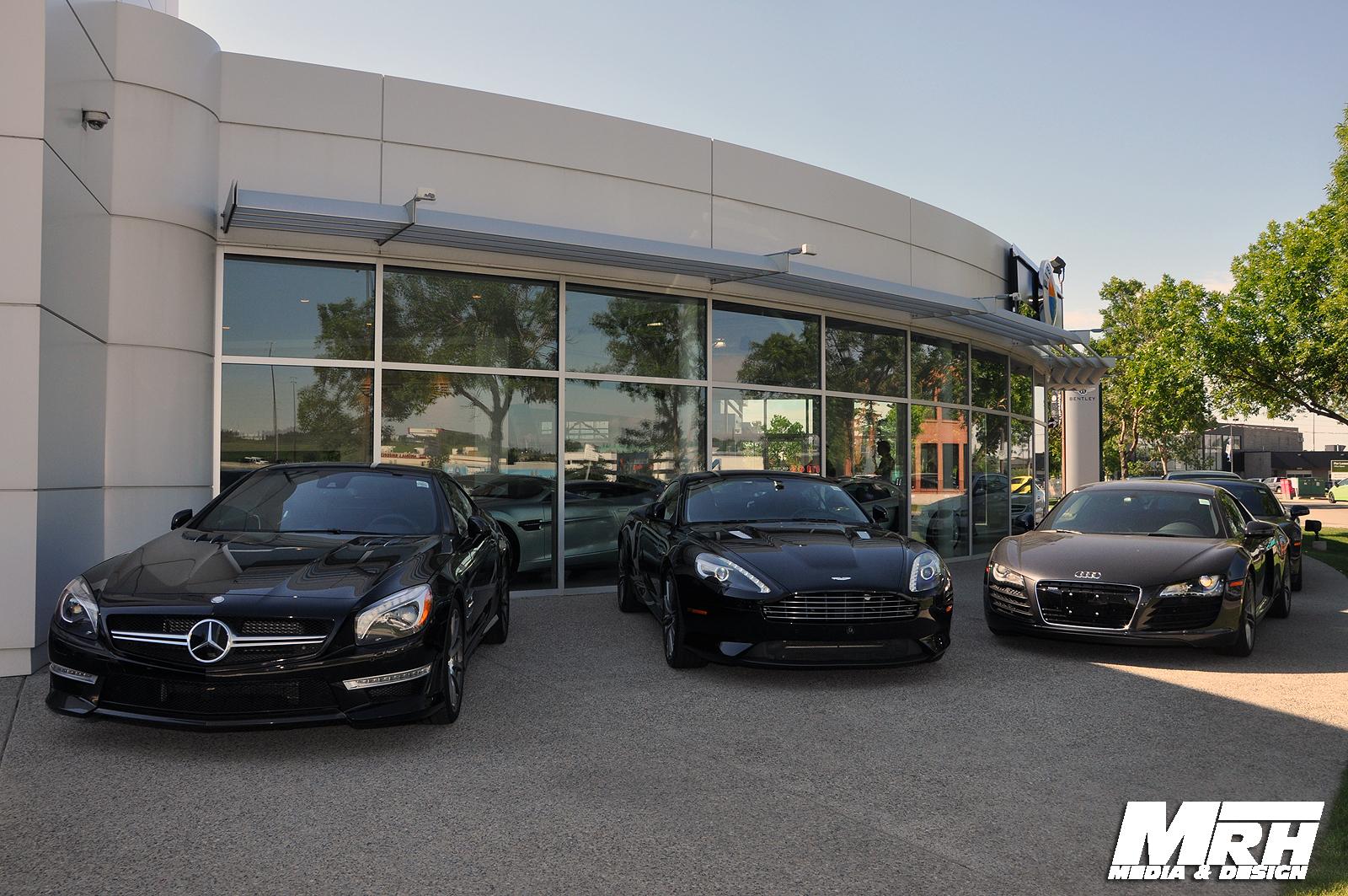Dealer Visit Western Canada S Aston Martin And Bentley Dealership