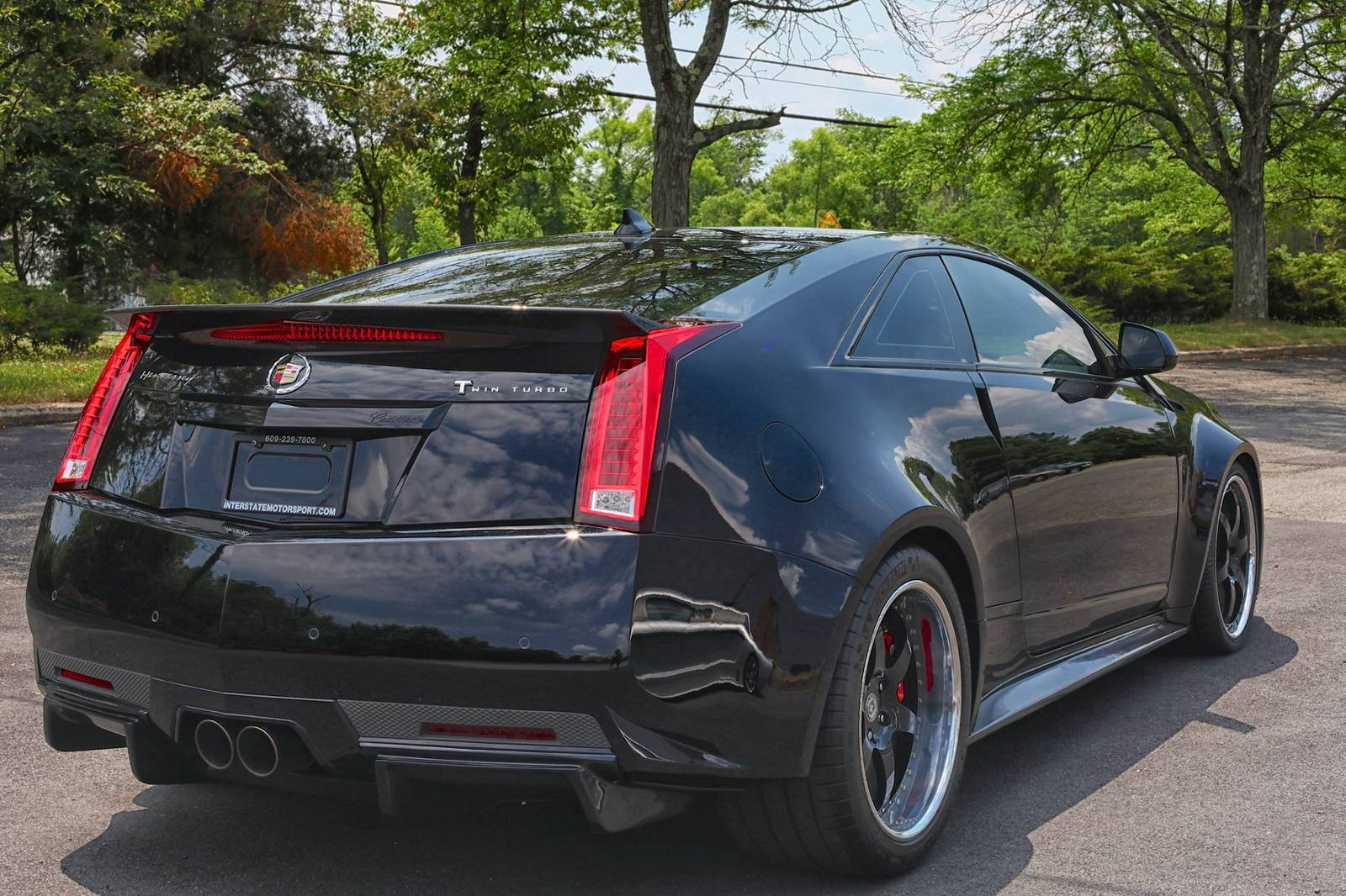 1250hp twin turbo cadillac cts v bound for mecum auctions. Black Bedroom Furniture Sets. Home Design Ideas