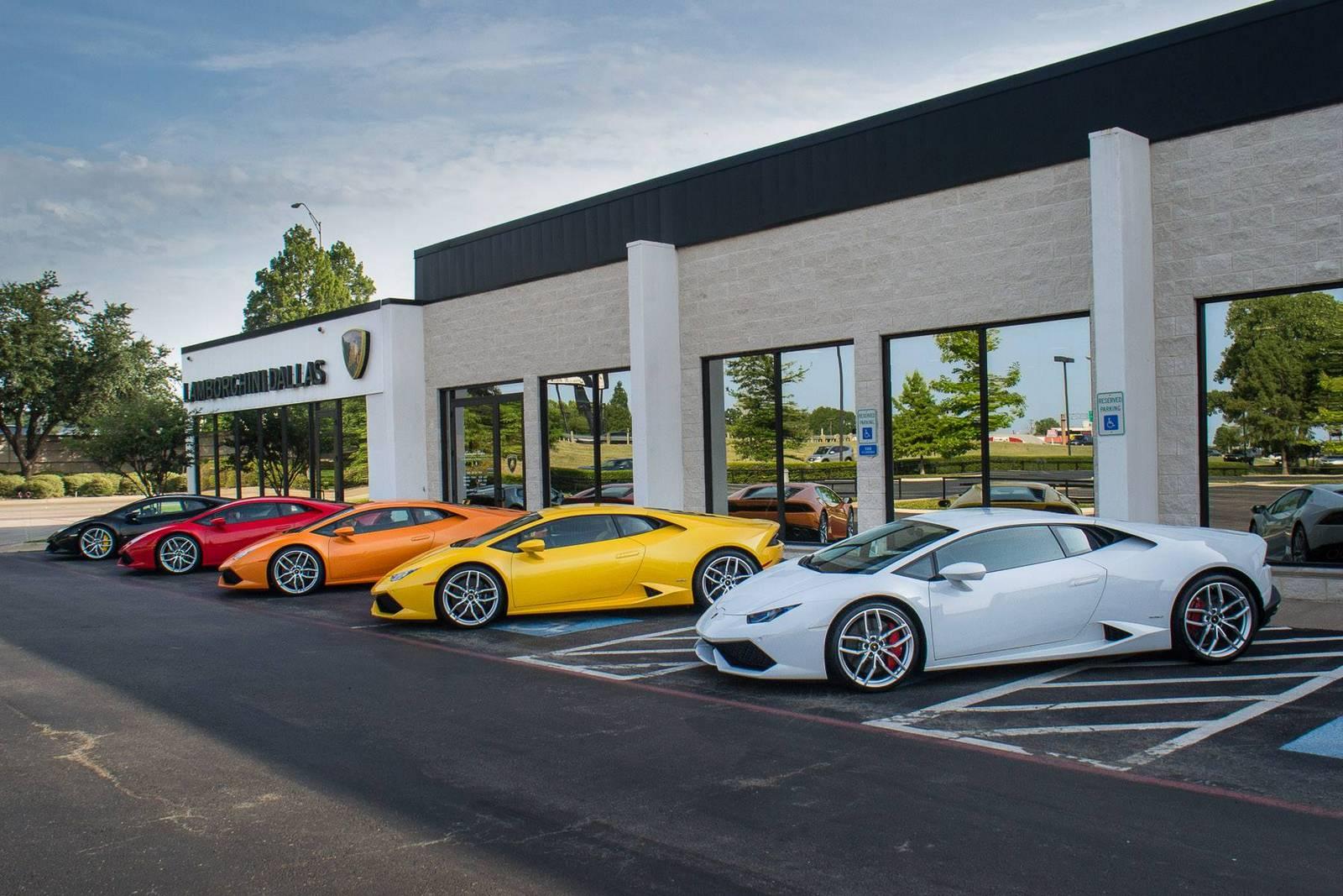 Lamborghini Huracan In Five Different Shades Gtspirit