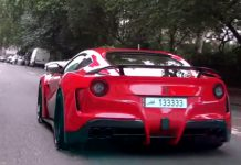 Video: Novitec N-Largo Ferrari F12 Hits London Streets!